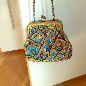 Mary Frances cross body purse